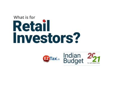 Budget has quite a lot for Retail Investors