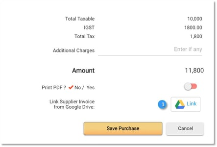 Google Drive Integration with EZTax in Books Accounting Software