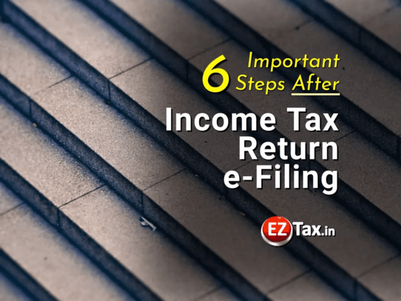 Important Steps After ITR eFiling