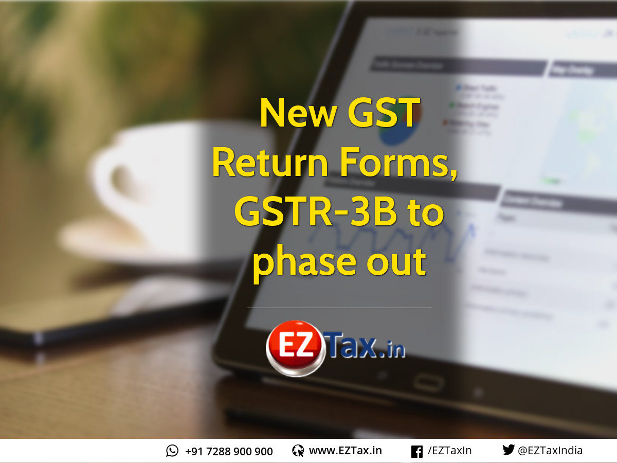 New GST Forms Released ANX-1 ANX-2 RET-1