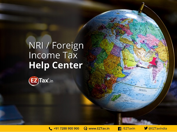 NRI Income Tax Help Center | EZTax.in